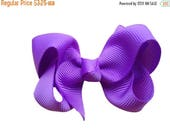 SALE You pick color 2.5 inch boutique bow - small hair bow, custom hair bow, toddler bows, small bows, girls hair bows, baby bows, custom bo