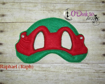 Raphael (Raph) ** TMNT Inspired Childrens Dress Up Mask
