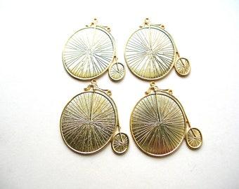 Highwheel Bicycle Pendant - Penny Farthing Bike