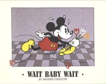 Werner Gregori-Wait Baby Wait-1994 Poster