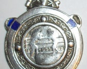 Solid Irish Silver Boxing Medal - 1943 - Made in Dublin by S&S Silversmiths