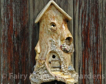 Fairy Cottage Wall Hanger
