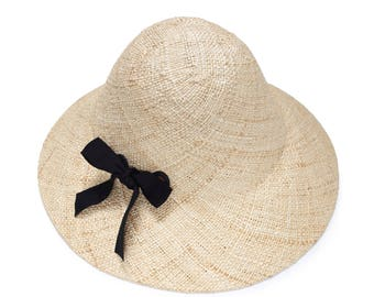 Fahionable bucket straw hat ,Womens straw hat , Straw hat for women,  Summer hats , Sun Hat , Beach hat , Fashion straw hat