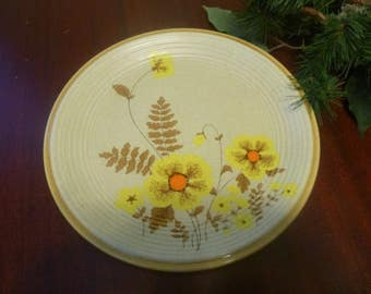 "Mikasa Natures Song Fernflower 10  1/2""  Dinner Plate, Mikasa Fernflower Made in Japan"