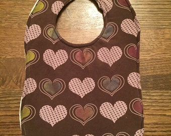 Upcycled Bib from Heart T-shirt