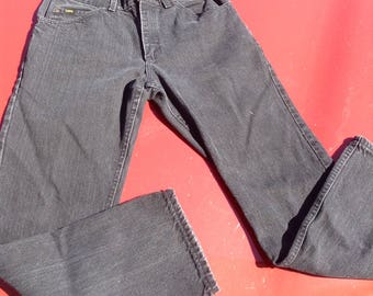 Vintage hipster 80s mens black Lee jeans size 33x30 free domestic shipping