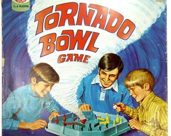 Tornado Bowl Classic Vintage 1970s Retro Board Game from Ideal