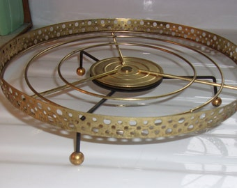 Mid Century Space Age Wire Lazy Susan