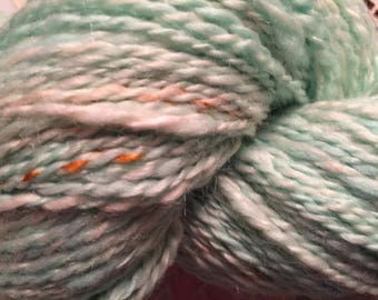 Handspun Polwarth Silk Yarn