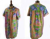 vintage dress / house coat