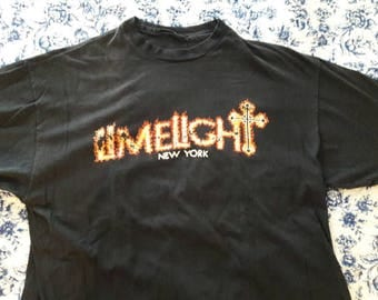 One of a kind vintage Limelight New York City Club shirt vintage NYC club shirt limelight tshirt nyc nightclub