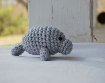 Crochet Manatee- Endangered