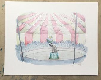 Cirque de Canuck-print