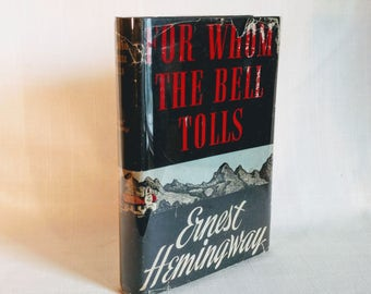For Whom the Bell Tolls, Hemingway, Ernest Blakiston Book Club Edition 1940