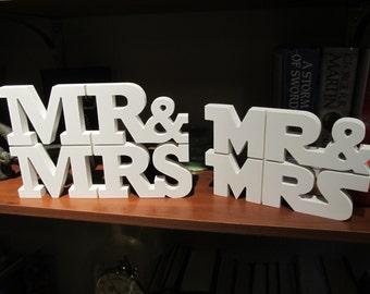 MR & MRS Wedding Table Centerpiece Topper 3D Custom CNC Art Star Wars reception anniversary gift idea wedding cake topper party decor gifts