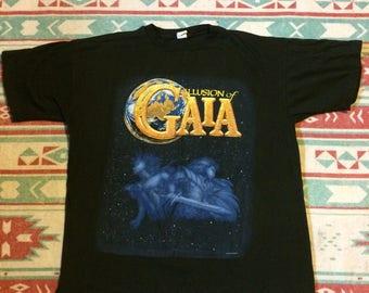 Vintage Ilusions of Gaia Nintendo Video Game T-Shirt