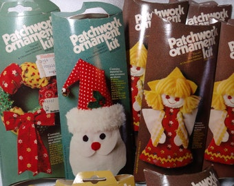 Vintage Christmas Ornament Kits, Lot of 11 New
