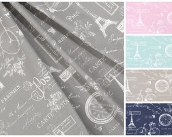 SUMMER SALE! Curtains NEW Paris Collection shown, Nursery Curtains, Designer Curtain Panels 24W or 50W x 63, 84, 90, 96 or 108L