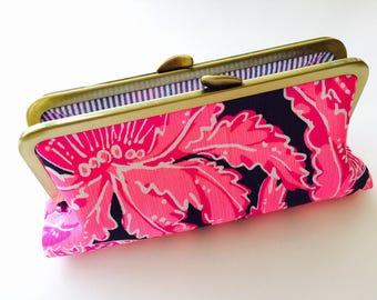 Lilly Pulitzer Coco Safari Fabric Clutch