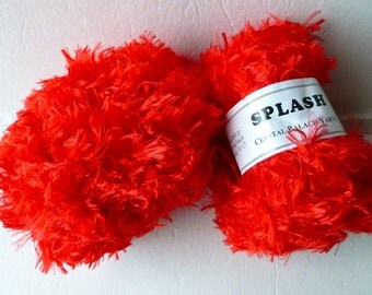 Sale Lacquer Red 3390 Splash  by Crystal Palace Yarns