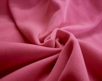 "Pink Non-Stretch Velvet Fabric 45/46"" Wide Per Yard"