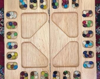 Double Mancala Board Game Night Fun
