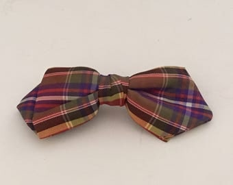 Youth Clip On BOW TIE Vintage Trendy Fashion Holiday Treasury