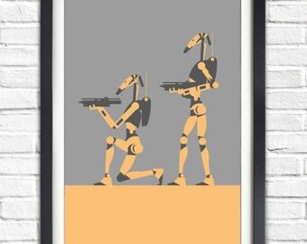 Star Wars - DROID - 19x13 Poster