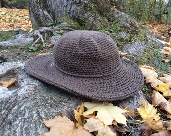 Winter Hat | Wide Brim Hat | Brown felt Hat | Womens Hat | Boho brim hat | Fall and Winter Hats for Women |Gift for her | Black Friday Sa
