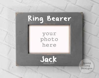 Ring Bearer Gift | Personalized Gift for Ring Bearer| Will you be my Ring Bearer | Custom Wedding party Gift | Ring Bearer Invite W06Ring