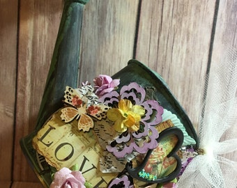 Shabby Chic Decorative Watering Can - **Free Shipping**