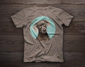 Weimaraner t-shirt, weimaraner tshirt tee