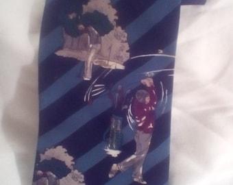 American Sports Golf Necktie