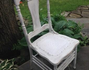 Antique, Oak Chair