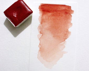 Venetian Red - Handmade Watercolor Paint