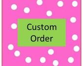 Custom Order for JoDee