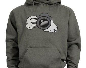 Camera sweatshirt gift for photographer hoodie photography