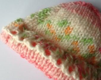 Handmade Knitted Prem Baby Hat