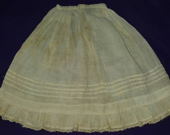 Antique Fashion Doll Petticoat