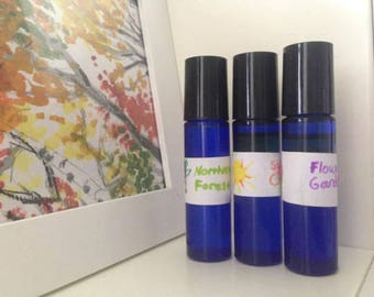 Organic Essential Oil Aromatherapy Intention Perfume
