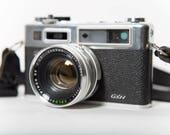 Yashica Electro 35 GSN Rangefinder Camera 35mm Film 1970s Original Strap