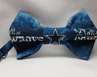 Dallas Cowboys Print Men's Bowtie