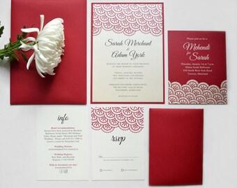 Printable Wedding Invitations | Digital | Muslim | Pakistani | Indian