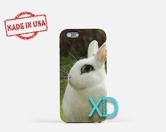 Bunny iPhone Case, Rabbit iPhone Case, Bunny iPhone 8 Case, iPhone 6s Case, iPhone 7 Case, Phone Case, iPhone X Case, SE Case New