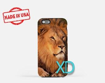 Lion iPhone Case, King iPhone Case, Lion iPhone 8 Case, iPhone 6s Case, iPhone 7 Case, Phone Case, iPhone X Case, SE Case Protective