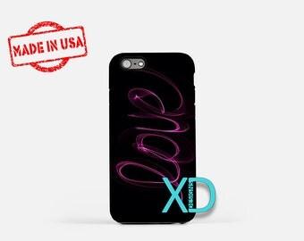Love Script iPhone Case, Love iPhone Case, Love Script iPhone 8 Case, iPhone 6s Case, iPhone 7 Case, Phone Case, iPhone X Case, SE Case