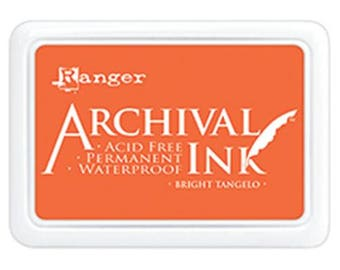 Ranger - Archival Ink Pad - Bright Tangelo
