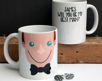 Will You Be My Groomsman Will You Be My Best Man Groomsman Gift Team Groom Best Man Gift Gift for Best Man Asking Groomsmen Wedding Guests