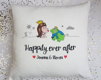 FairyTale Home Cushion-Engagement gift-Gift for Girlfriend-FairyTale Cushion-Gift for Anniversary-Gift for Her-Romantic Gift-Decorative