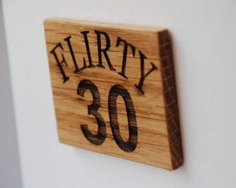 30th Birthday Magnet Card